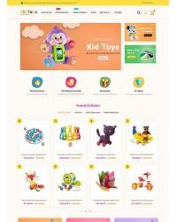 Kid Toys E-Ticaret Teması