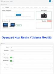 Opencart Hızlı Resim Yükleme Modülü