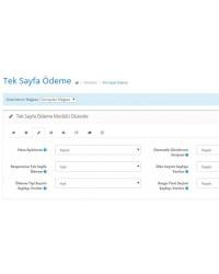 Opencart 1.5x Tek Sayfa Ödeme Modülü
