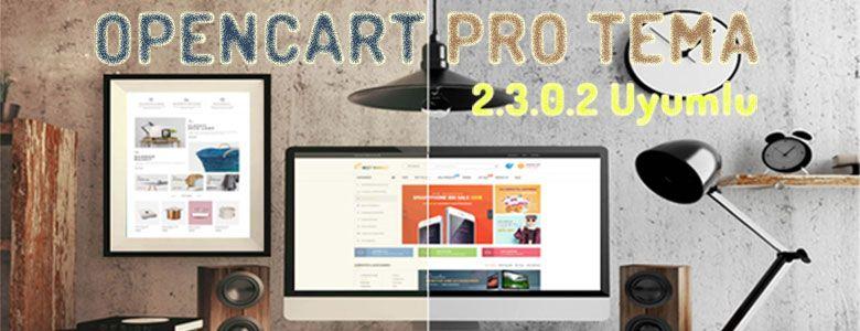 Opencart Pro E-Ticaret Teması