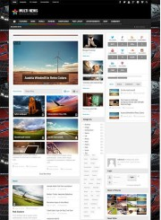 Multinews - WordPress Haber ve Magazin Teması