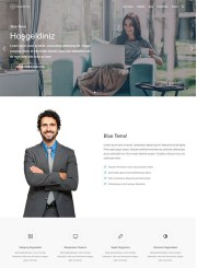 Blue Wordpress Tema